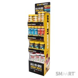 SmaartWipes Free-Standing Display Unit - 4 shelves