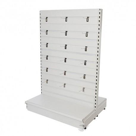 Slatwall Toolbars & Gondola Systems - Slatwall Gondola Ext. 1000 x 400 x 1500mm