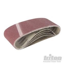 Aluminium Oxide Sanding Belt 5pk - TAS60G Sanding Belt 5pk 60G