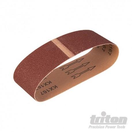 Aluminium Oxide Sanding Belt 5pk - TAS80G Sanding Belt 5pk 80G