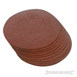 Hook & Loop Discs 300mm 10pk - 300mm 60 Grit