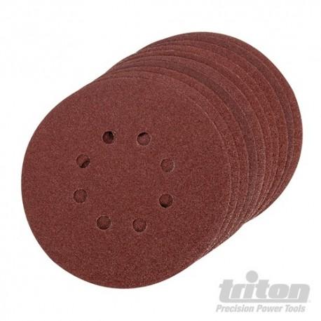 Hook & Loop Sanding Disc 10pk - 150mm 80 Grit