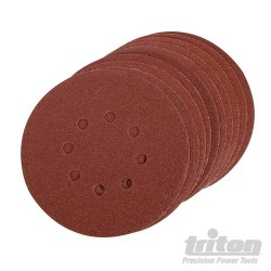 Hook & Loop Sanding Disc 150mm 10pk - 150mm 100 Grit