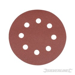 Hook & Loop Discs Punched 115mm 10pk - 40 Grit