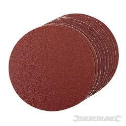 Self-Adhesive Sanding Discs 150mm 10pk - 60 Grit