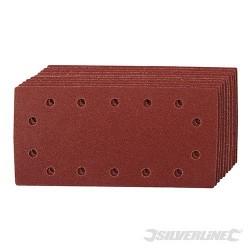 Arkusz papieru sciernego z otworami i mocowaniem na rzep, 115 x 230 mm, 10 szt. - P 60