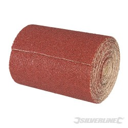 Papier scierny z nasypem z tlenku glinu w rolce - P 120, 5 m