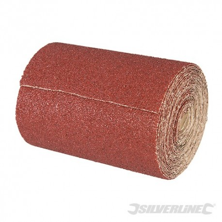 Papier scierny z nasypem z tlenku glinu, w rolce 10 m - P 120, 10 m