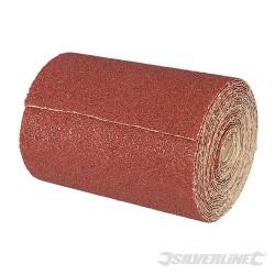 Papier scierny z nasypem z tlenku glinu, w rolce 10 m - P 180, 10 m