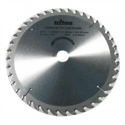 SAW BLADE 235 x 40T 25MM BORE