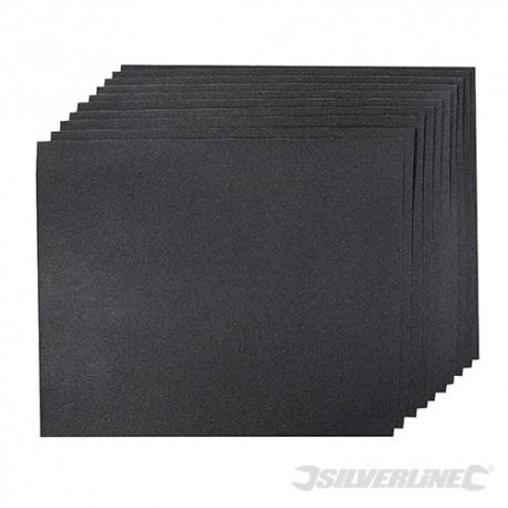 Papier scierny z nasypem z weglika krzemu 10 szt. - P 180