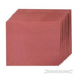 Brusné papíry pro broušení rukou - 10 kusů - 150 Grit