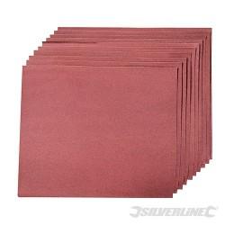 Aluminium Oxide Hand Sheets 10pk - 240 Grit