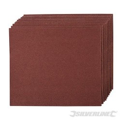 Smirkový papír - 10 kusů - 60 Grit