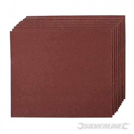 Emery Cloth Sheets 10pk - 60 Grit