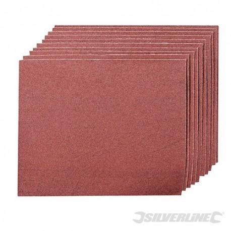 Smirkový papír - 10 kusů - 80 Grit
