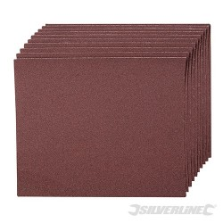 Emery Cloth Sheets 10pk - 120 Grit