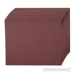 Smirkový papír - 10 kusů - 120 Grit
