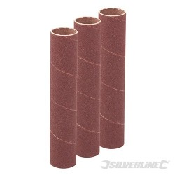 90mm Bobbin Sleeves 3pk - 19mm 60 Grit