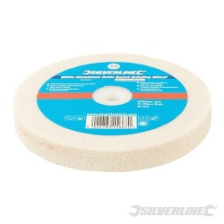 White Aluminium Oxide Bench Grinding Wheel - 150 x 20mm Medium