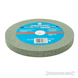 Green Silicon Carbide Bench Grinding Wheel - 200 x 20mm Medium