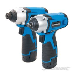 Silverstorm 10.8V Twin Pack Impact Wrench & Impact Driver - 10.8V