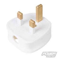 13A Fused Plug - White