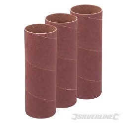 114mm Bobbin Sleeves 3pk - 38mm 120 Grit