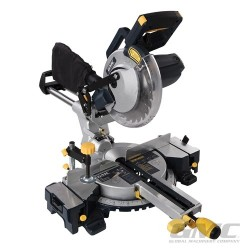 1800W Double Bar Sliding Mitre Saw 210mm - GM210S