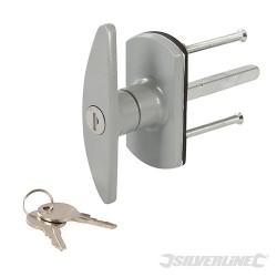 Garage Door Locking Handle - 75mm Square