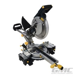 1600W Double Bar Sliding Mitre Saw 255mm - GM255S UK