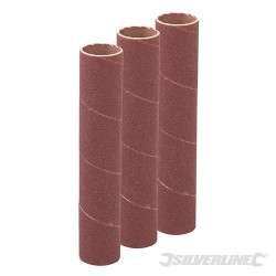 140mm Bobbin Sleeves 3pk - 19mm 80 Grit