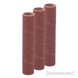 140mm Bobbin Sleeves 3pk - 19mm 120 Grit