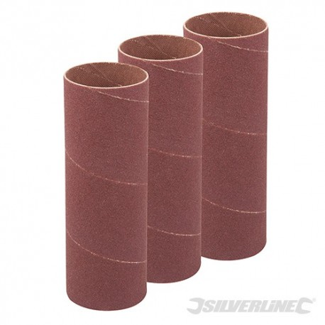 140mm Bobbin Sleeves 3pk - 38mm 120 Grit