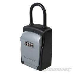 4-Digit Combination Car Key Safe - 75 x 170 x 50mm