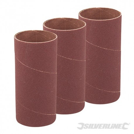 140mm Bobbin Sleeves 3pk - 51mm 60 Grit