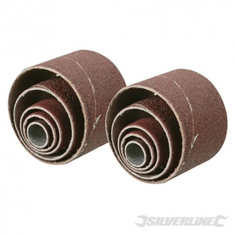 Sanding Sleeves 10pce - 80 Grit