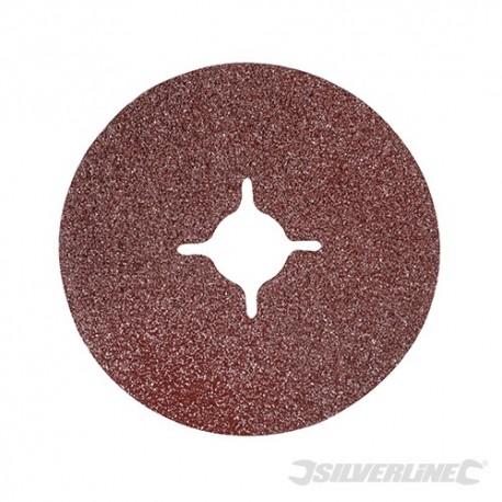 Fibre Discs 115 x 22.23mm 10pk - 115mm 36 Grit
