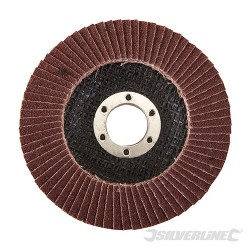 Aluminium Oxide Flap Disc - 115mm 80 Grit