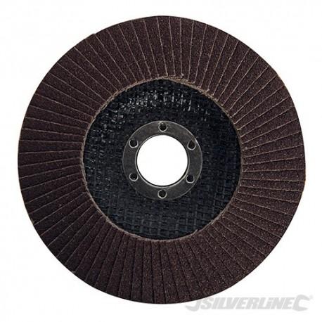 Dysk lamelkowy z nasypem z tlenku glinu - 125 mm, P 80