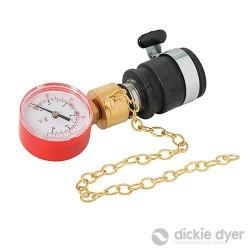 Water Pressure Gauge - 0-10bar / 150psi - 90.080