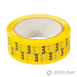 'GAS' Identification Tape - 38mm x 33m - 90.711