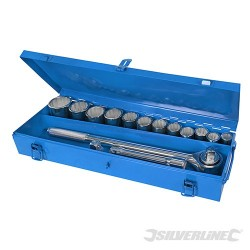 "3/4"" Socket Set 15pce - 15pce"