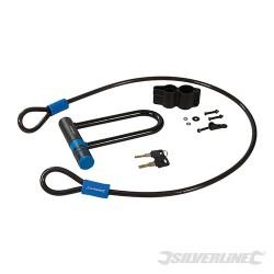 U-Lock & Cable Set - 145 x 210mm / 10 x 1200mm