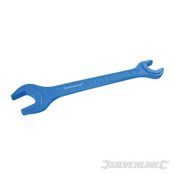 Heavy Duty Compression Nut Spanner - 15 & 22mm