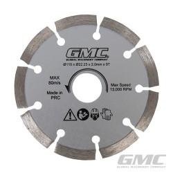 Diamentowa tarcza tnaca GTS1500 - Diamentowa tarcza tnaca 110 x 22,23 x 2 mm x 9T