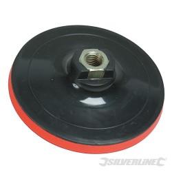 Talerz szlifierski z mocowaniem na rzep - 125 x 10 mm