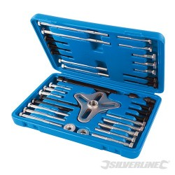 Harmonic Balancer Puller Set 46pce - 40-93mm