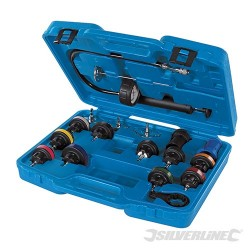 Radiator Pressure Test Kit 18pce - 18pce