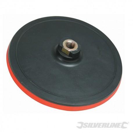 Talerz szlifierski z mocowaniem na rzep - 180 x 10 mm